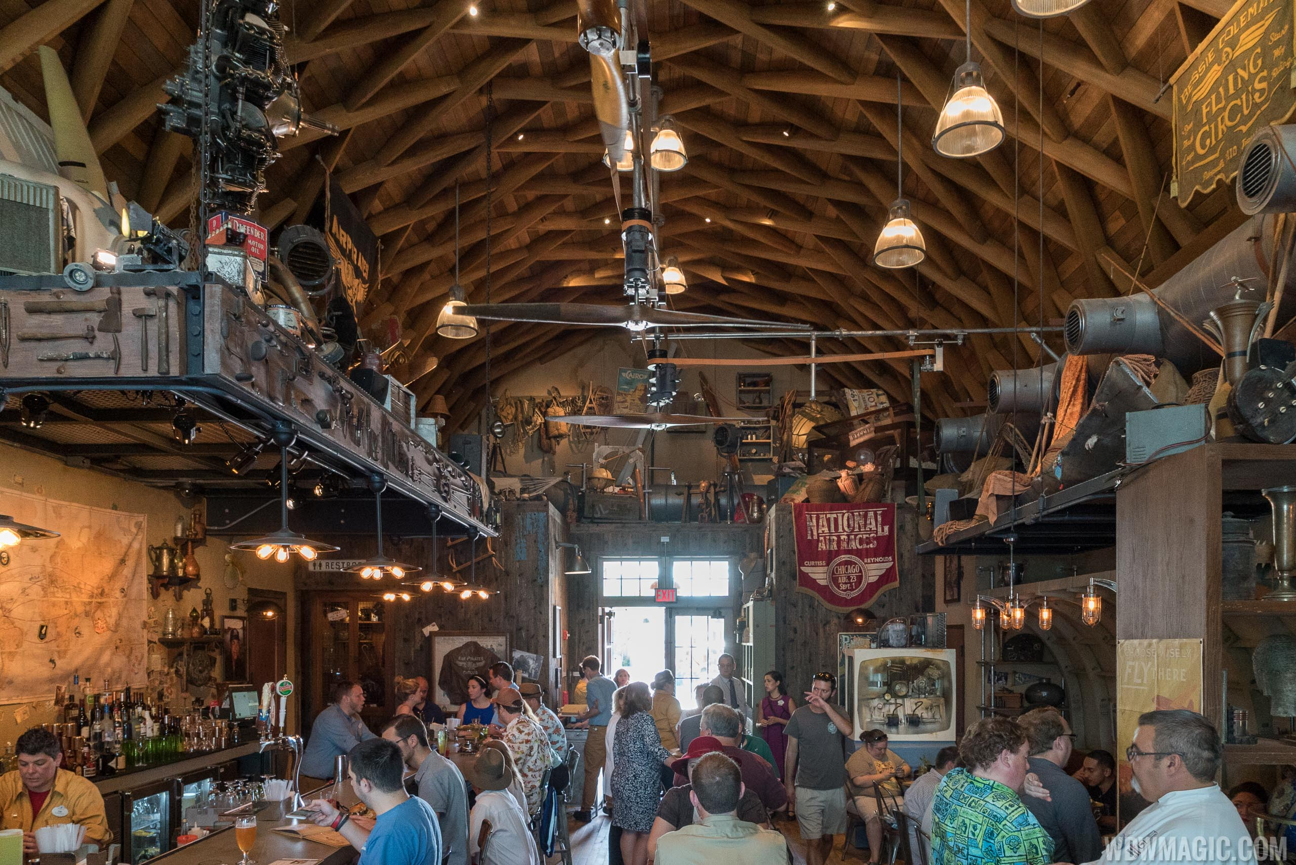 Review Jock Lindsey S Hangar Bar At Disney Springs