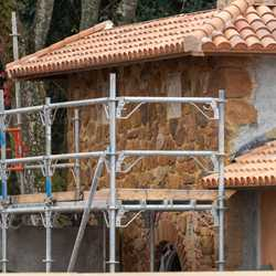 Gelateria Toscana construction - January 26 2021