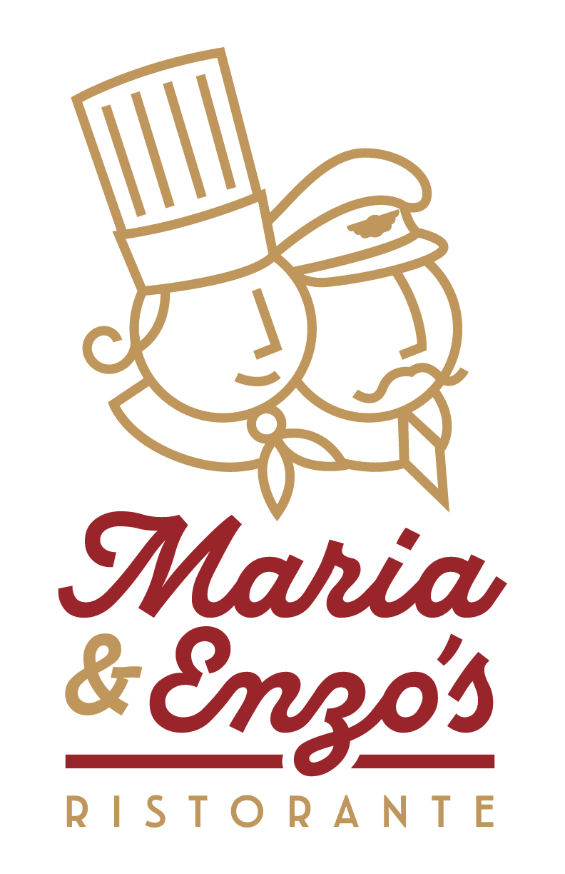 Maria and Enzo's logos