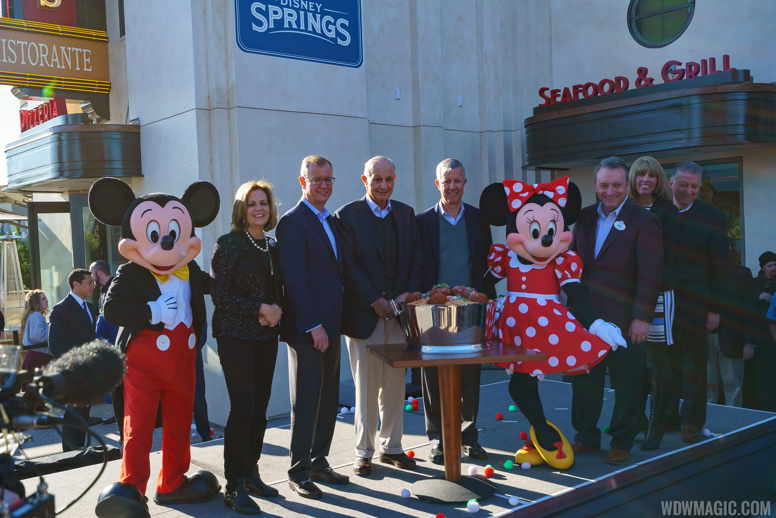 Patina Restaurant Group dedication of new Disney Springs venues