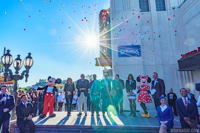 Patina Restaurant Group dedication of new Disney Springs venues