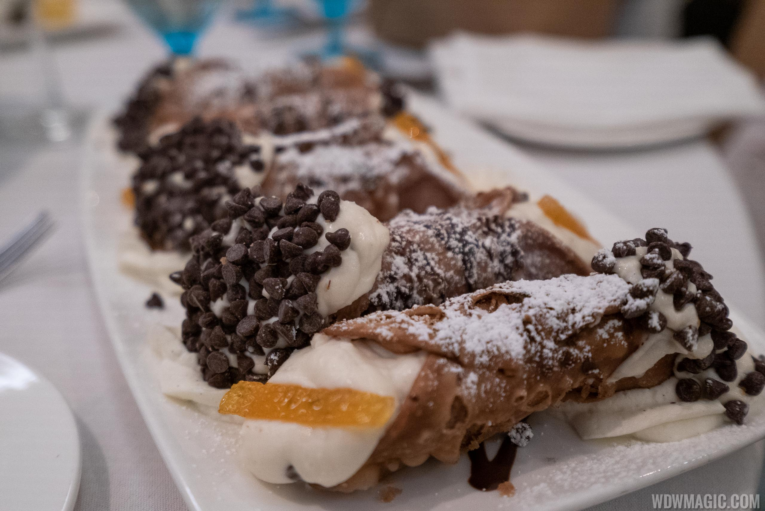 Maria and Enzo's Cannoli