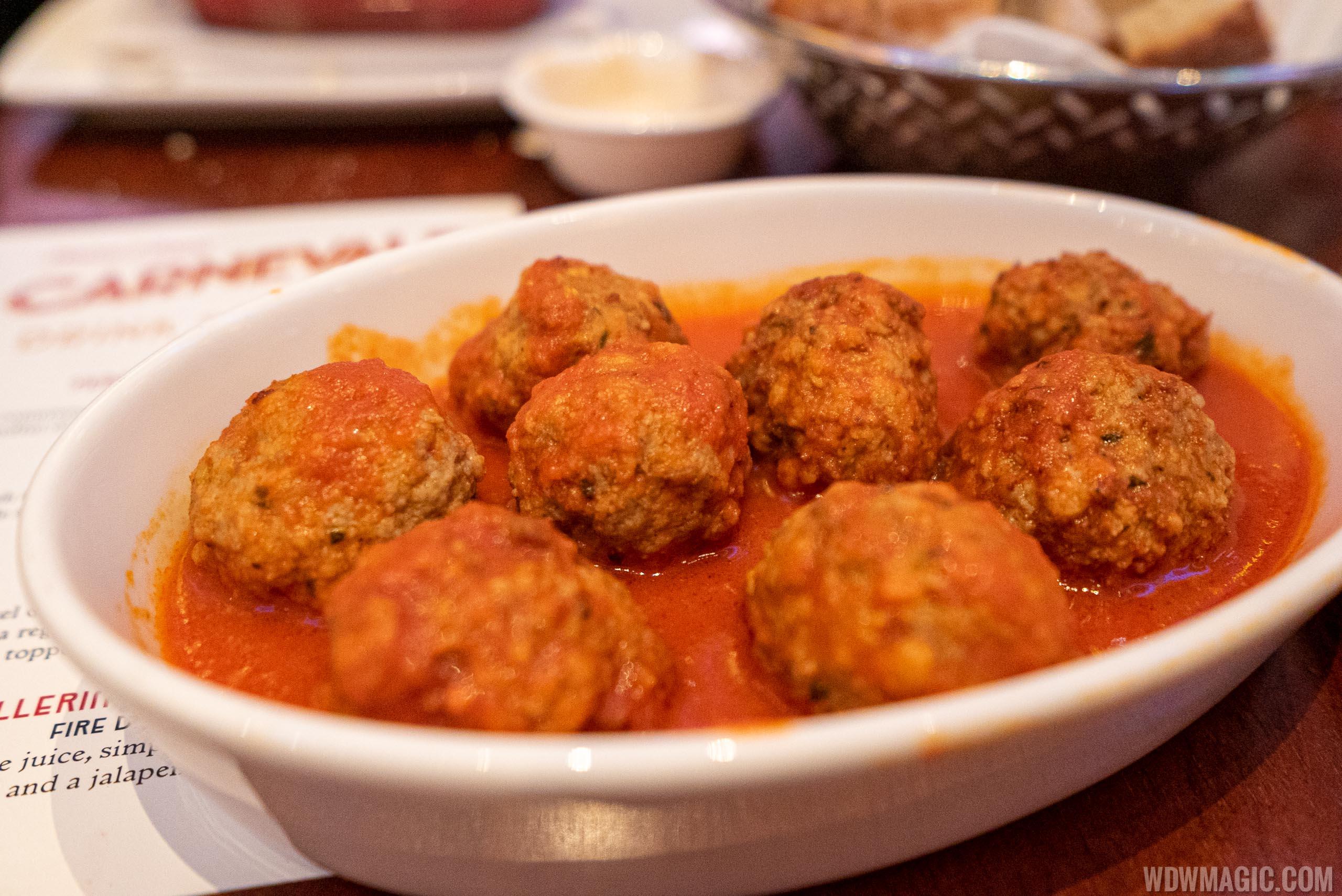 Maria and Enzo's Carnevale - Mamma Maria's mini-meatballs