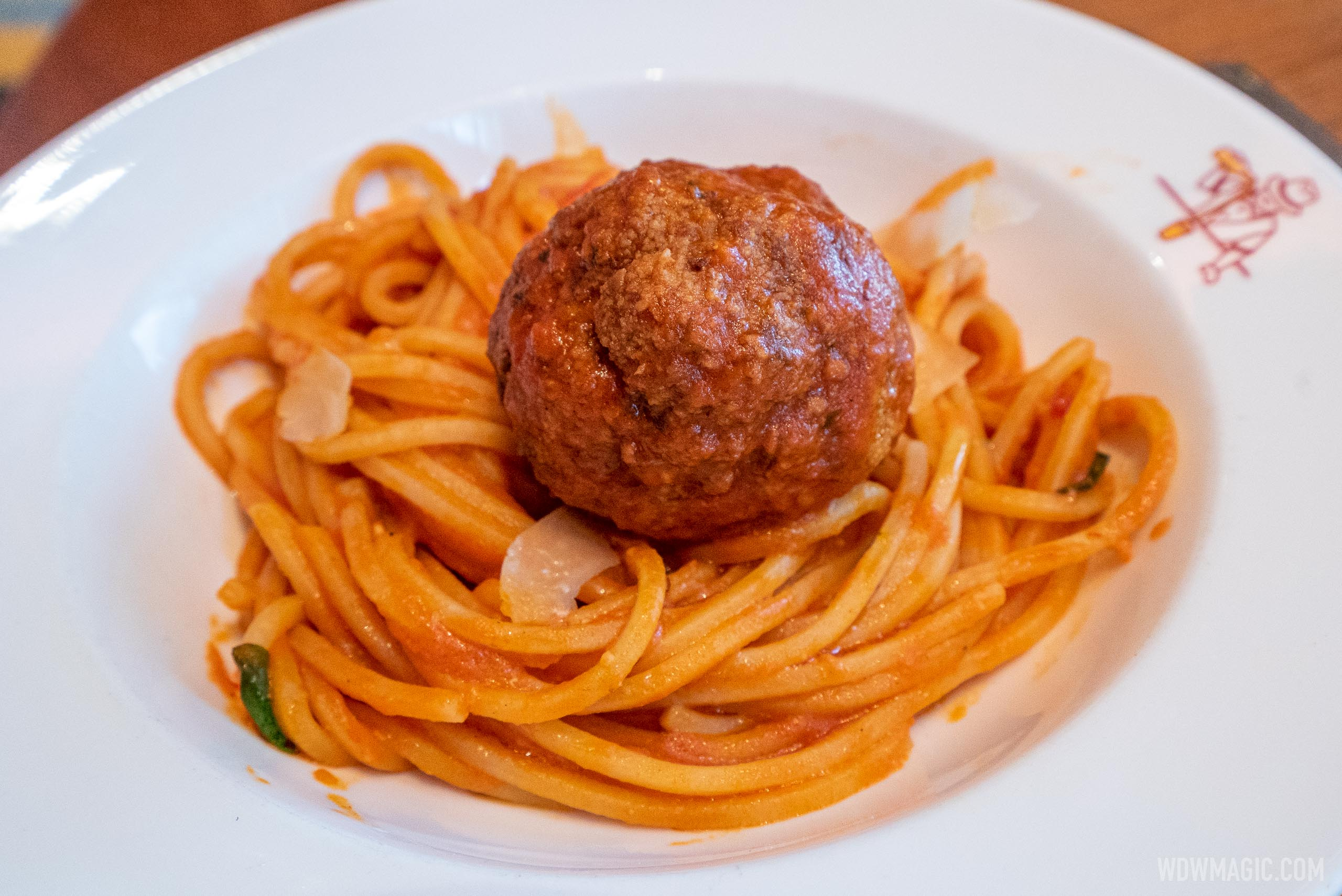 Maria and Enzo's food and drink - Spaghetti and Meatball