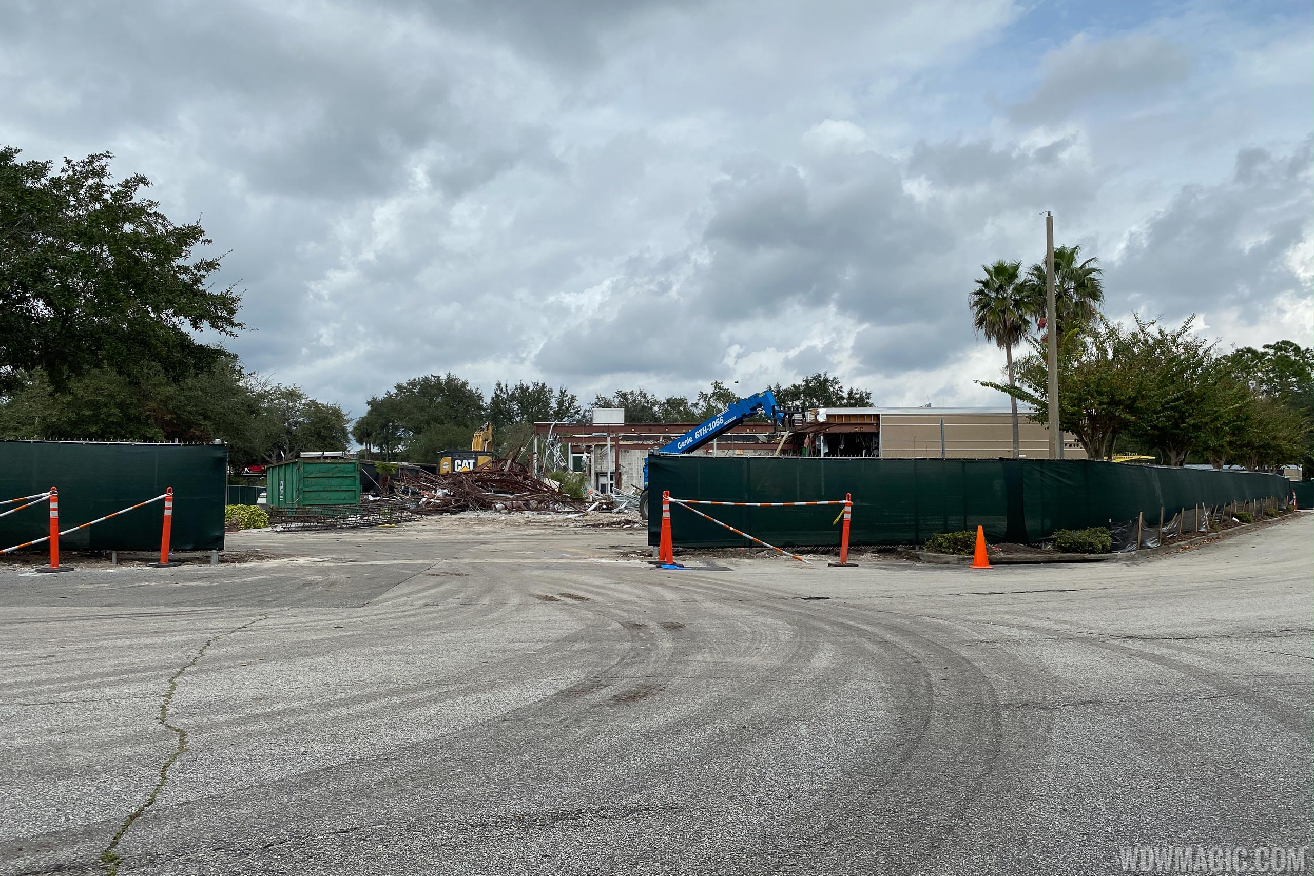 McDonald's at the All Star Resorts area demolition