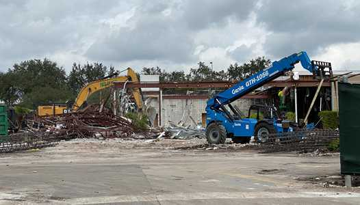 PHOTOS - McDonald's All Star Resort area nears total demolition