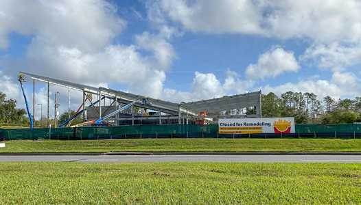 PHOTOS - McDonald's near Disney's All Star Resort construction update