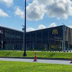 McDonald's at the All Star Resorts area construction June 2020