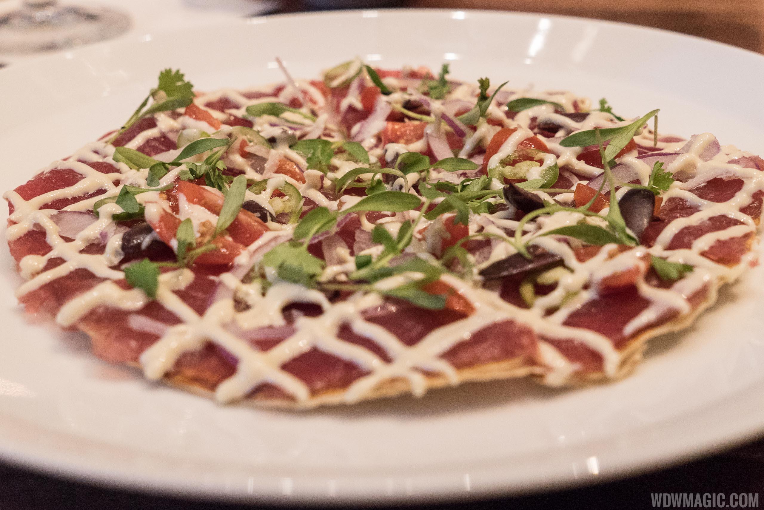 Morimoto Asia - tuna pizza