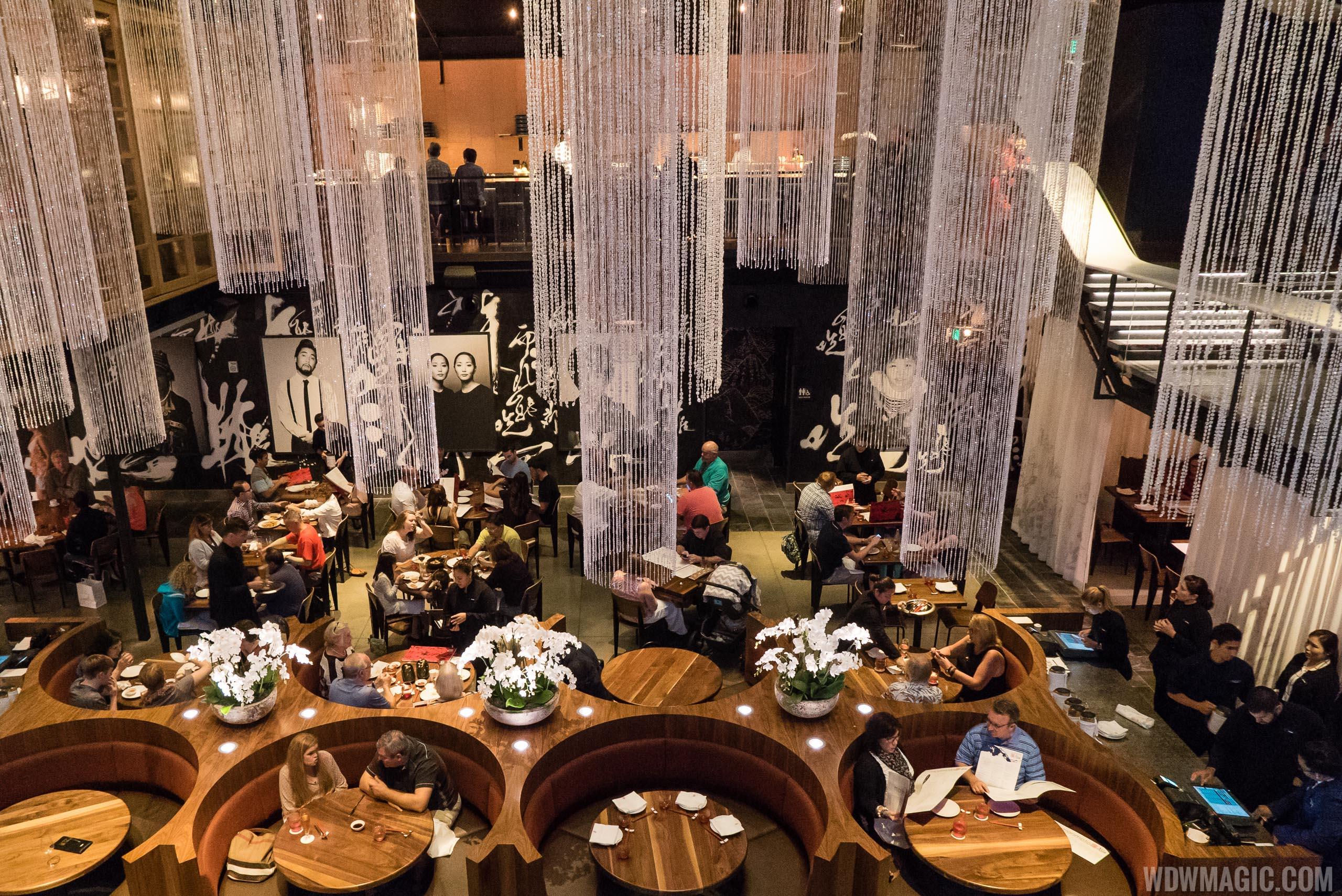 Morimoto Asia - Mai dining room viewed from second level