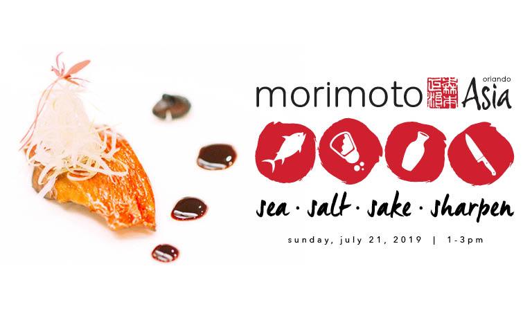 Morimoto Asia - Sea. Salt. Sake. Sharpen