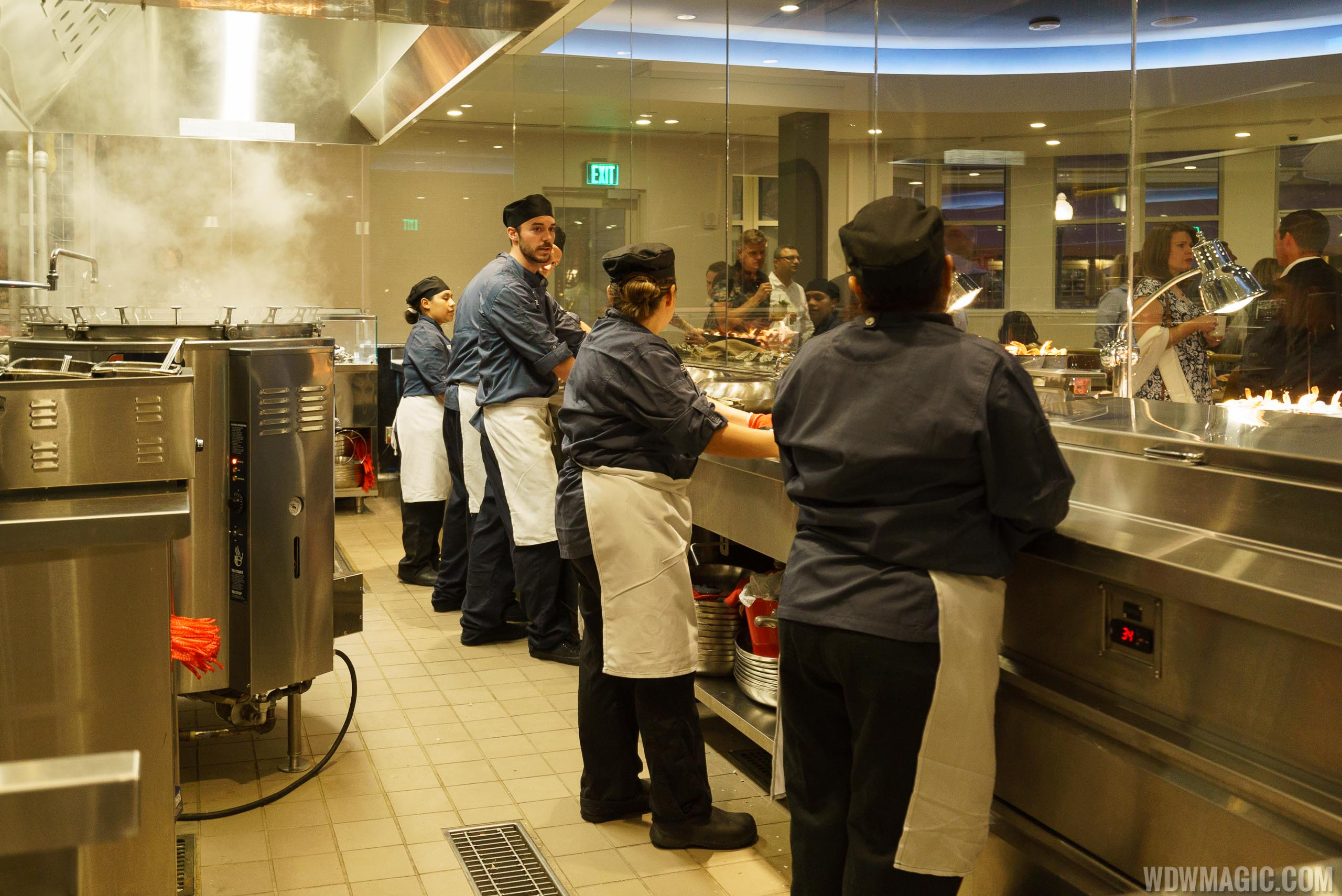 Paddlefish - The Boil Room Kitchen on the lower level