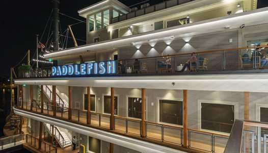 PHOTOS - Tour the new Paddlefish restaurant, now open at Disney Springs