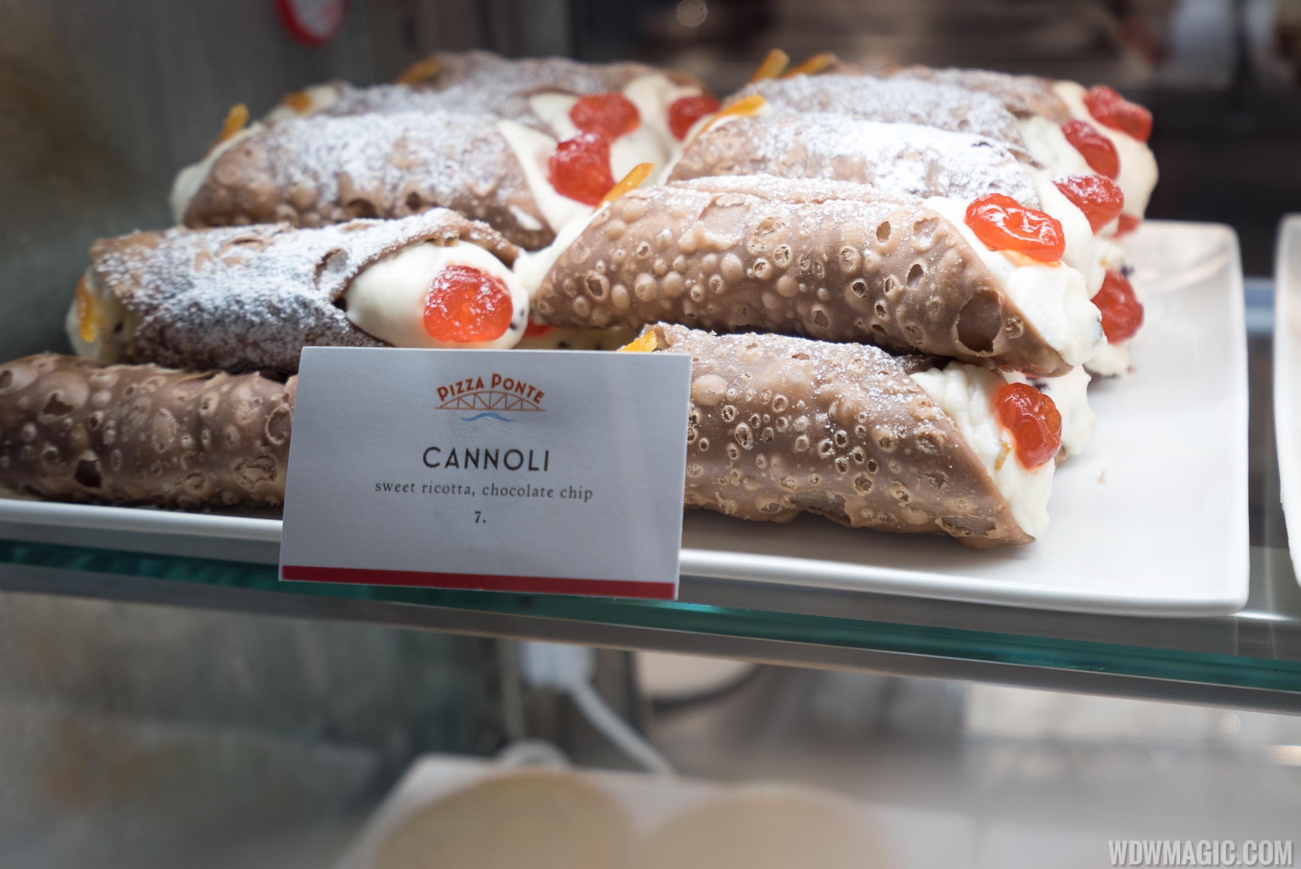 Pizza Ponte - Cannoli