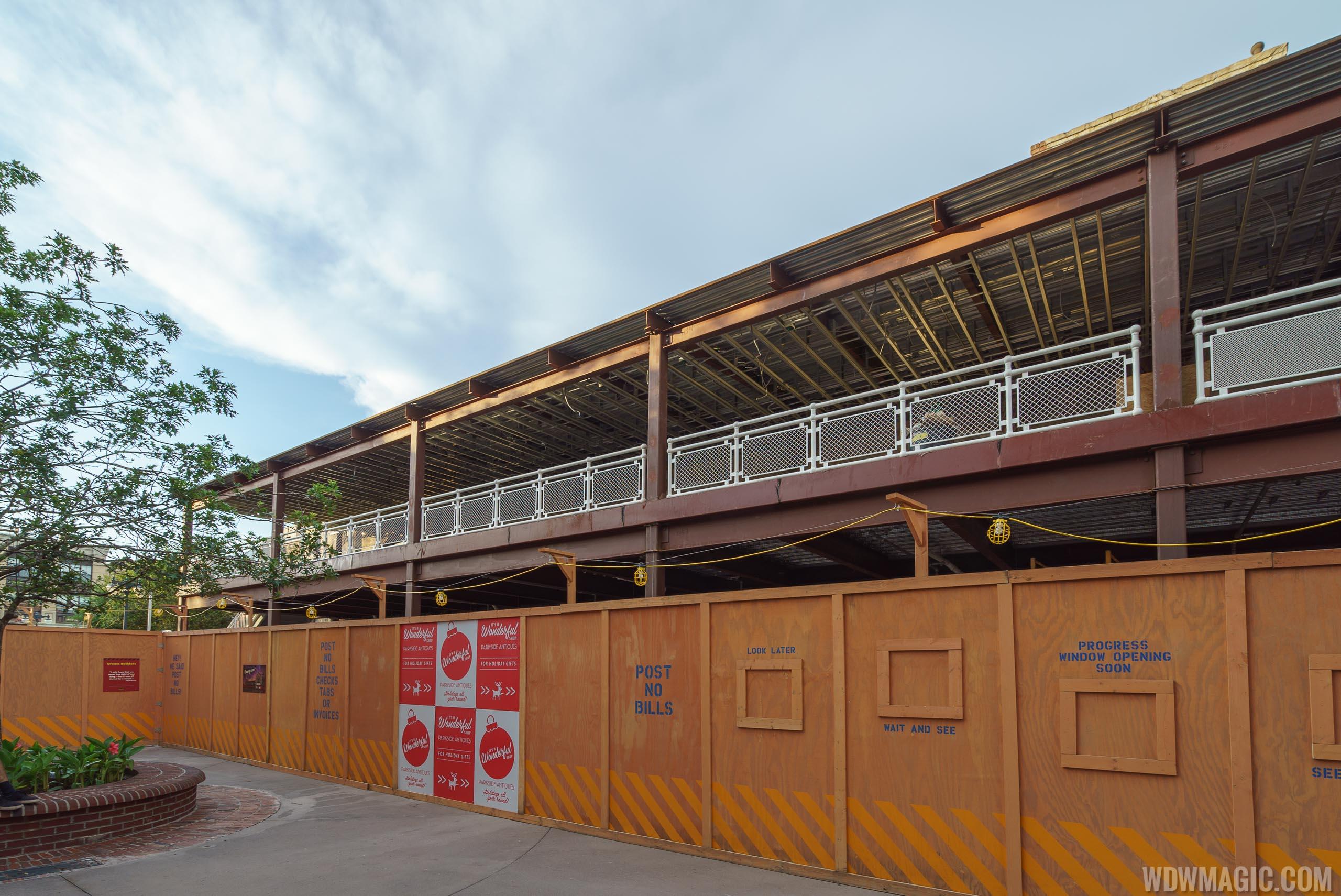 PizzaRizzo construction