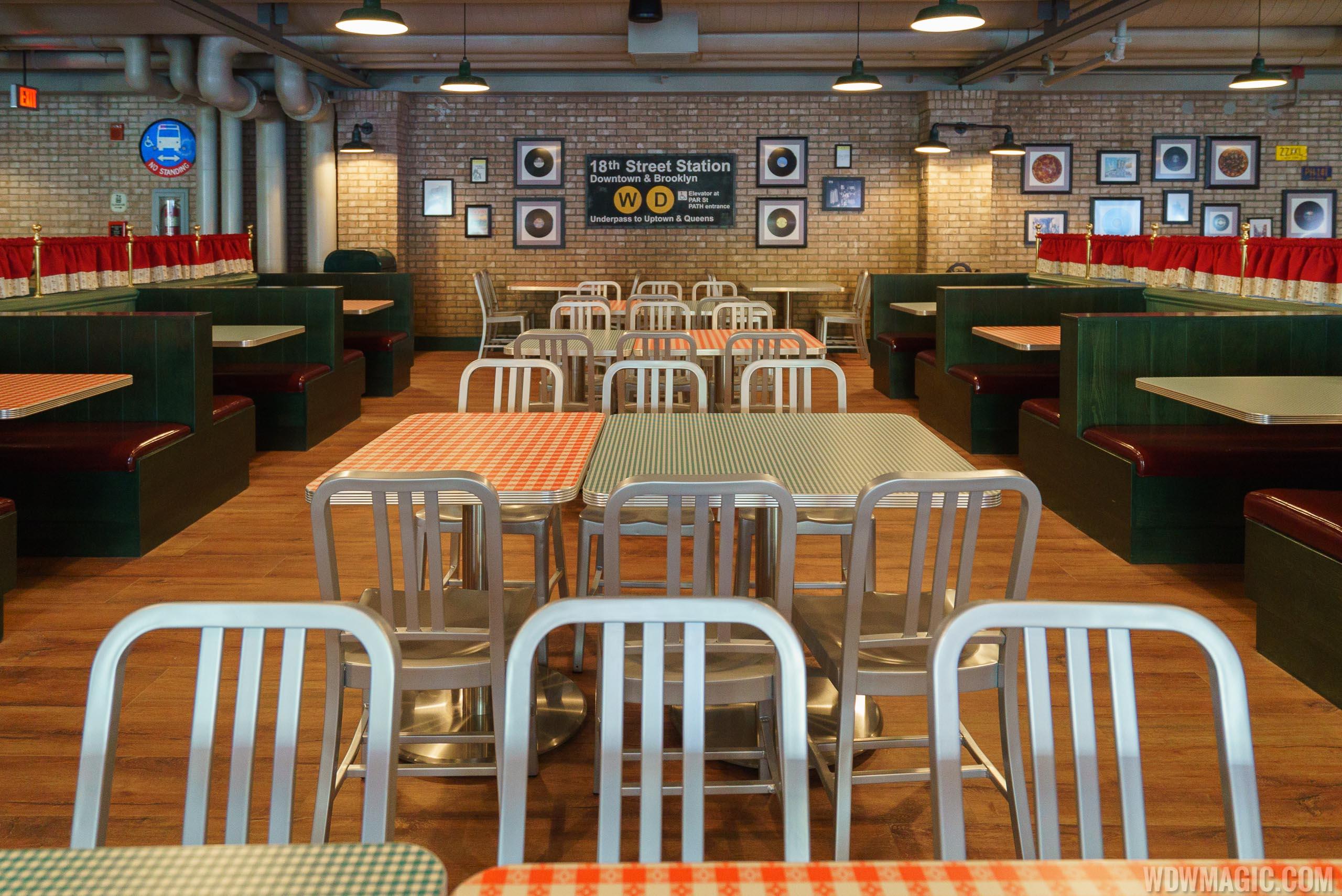 Inside PizzaRizzo
