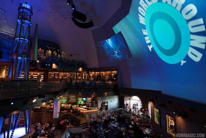 Planet Hollywood Observatory food and drink 2019