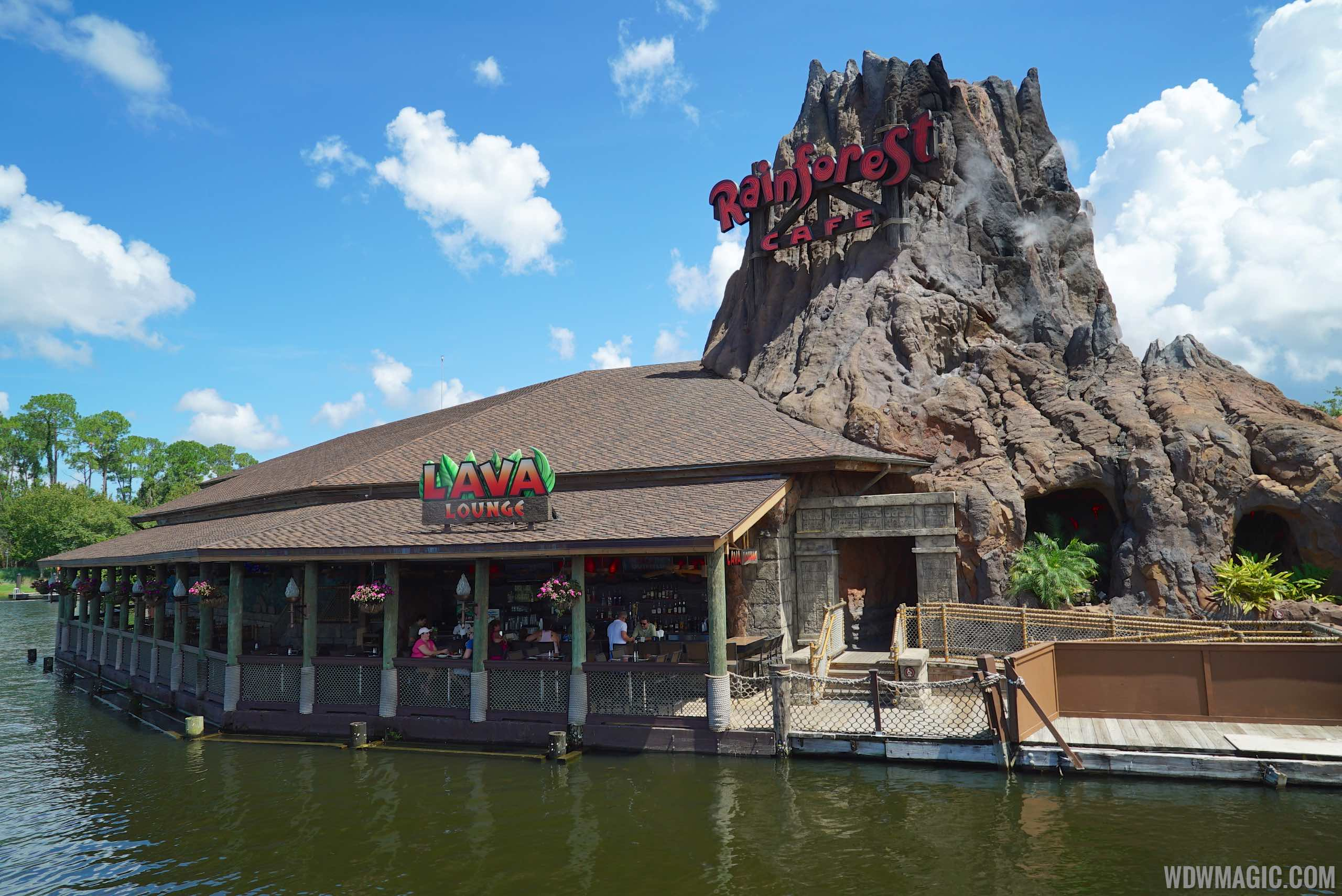 Rainforest Cafe Orlando Opening Hours