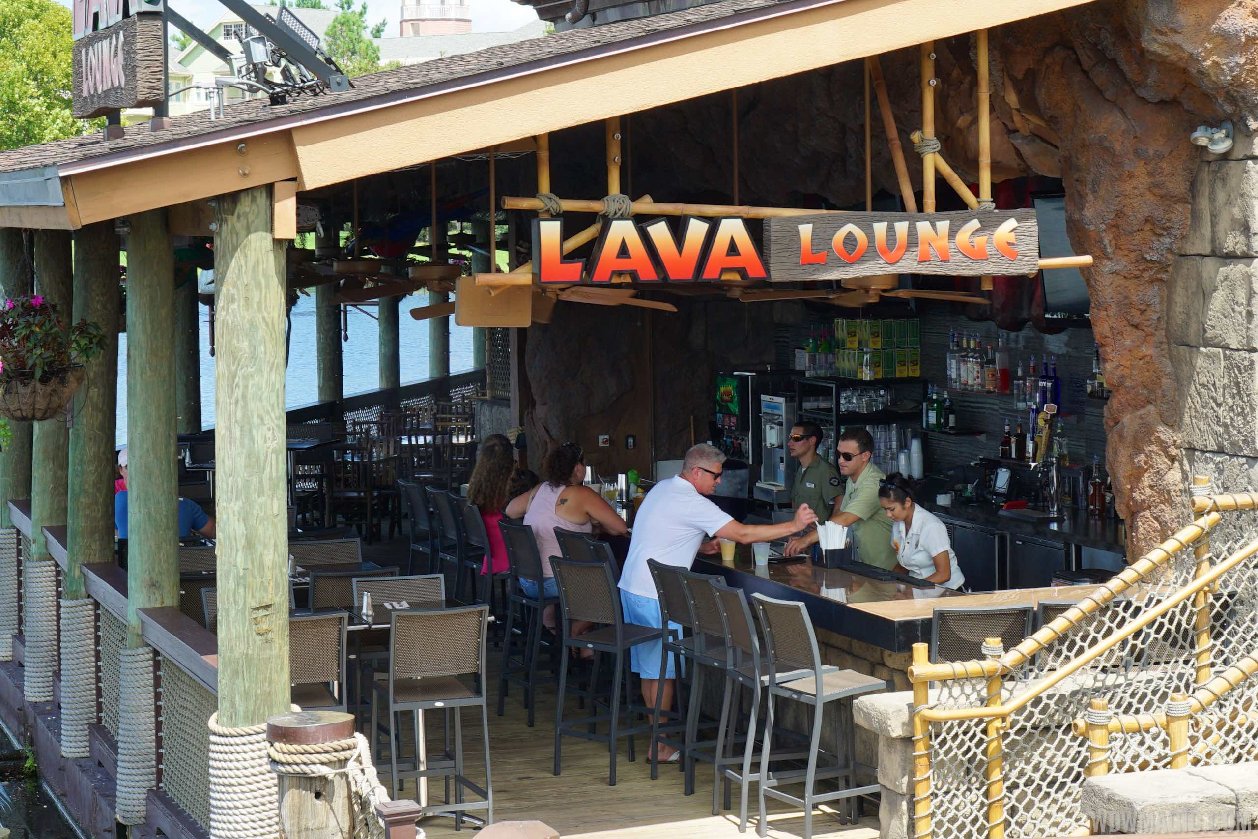 Lava Lounge overview