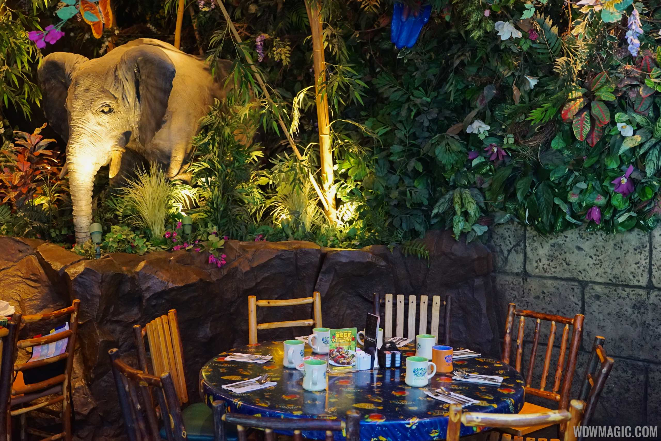 Animal Kingdom Rainforest Cafe Reservations