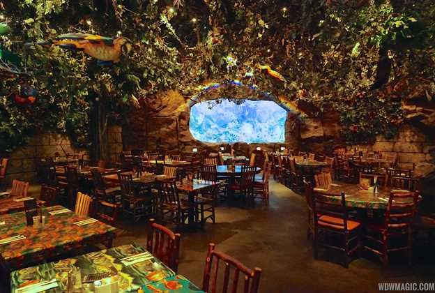 Rainforest Cafe Disney's Animal Kingdom overview