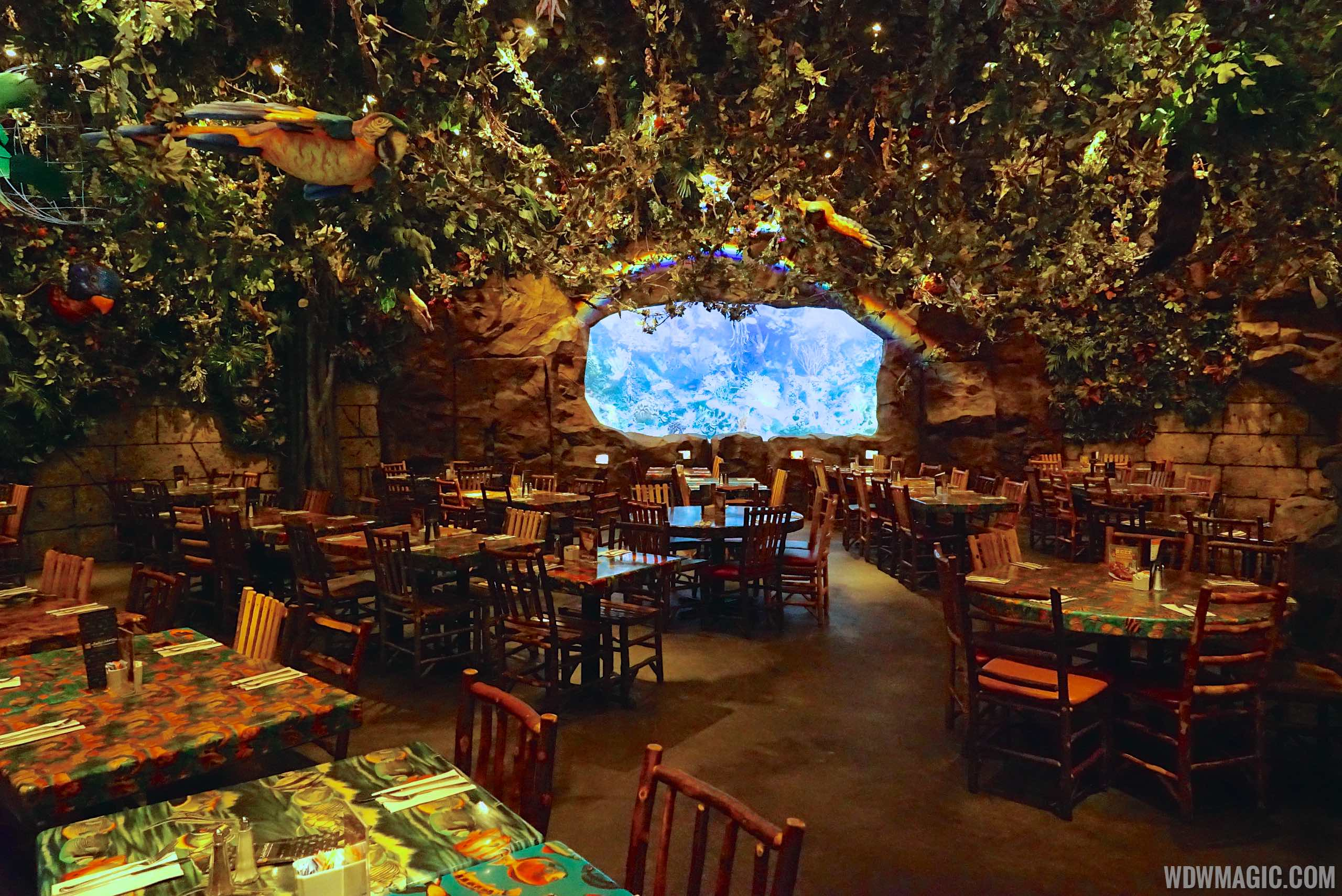 Rainforest Cafe Downtown Disney Reservations Orlando