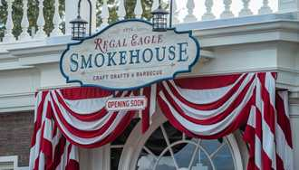 PHOTOS - Regal Eagle Smokehouse nears opening at Epcot