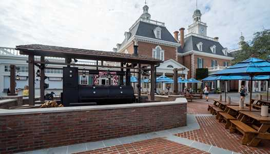 PHOTOS - Regal Eagle Smokehouse now open at Epcot's American Adventure Pavilion