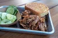 North Carolina Chopped Smoked Pork Butt Platter