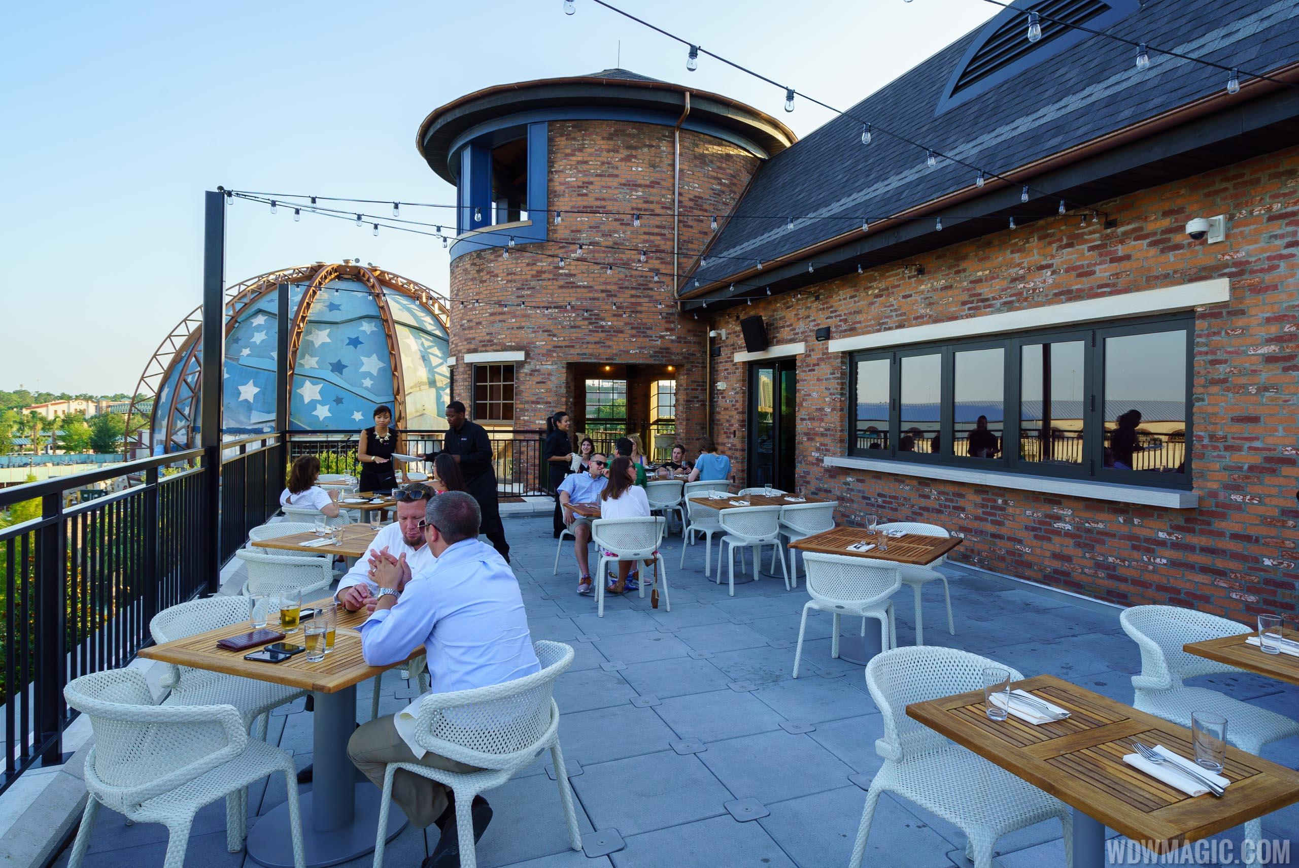 STK Orlando - Outdoor terrace