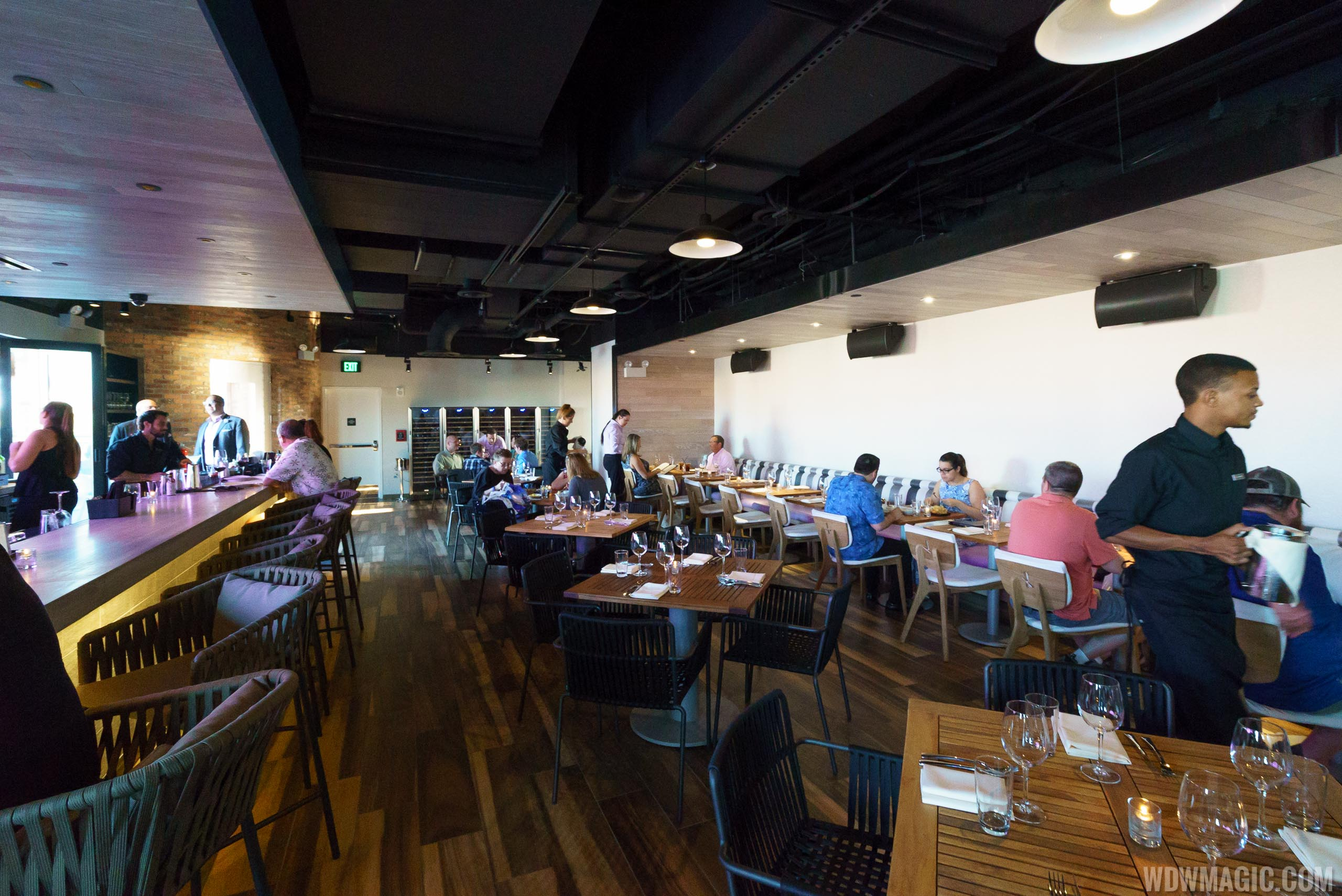 STK Orlando - Upper level dining room and bar