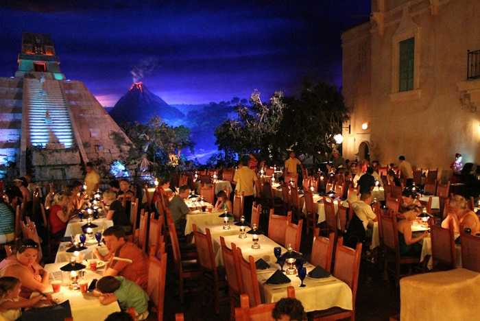 New look San Angel dining room