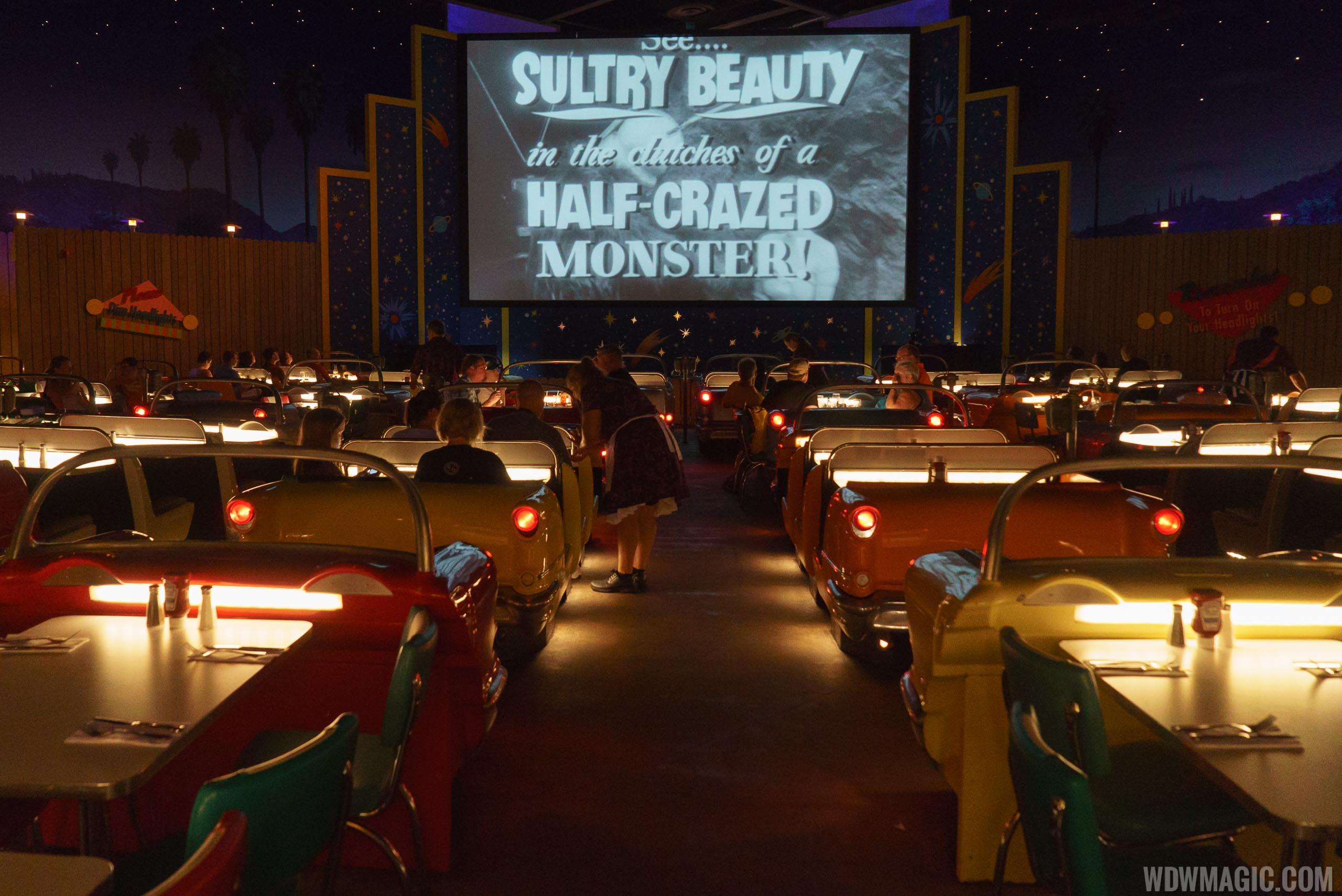 Sci-Fi Dine-In movie screen