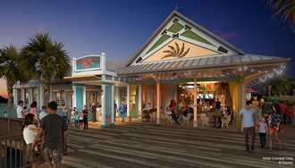 New Caribbean Beach Resort table service restaurant announced - Sebastian's Bistro
