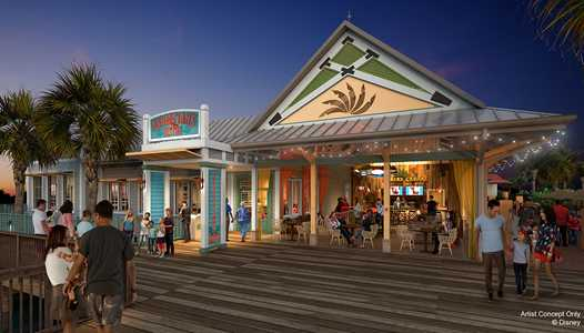 New Caribbean Beach Resort table service restaurant announced - Sebastian's Bistro