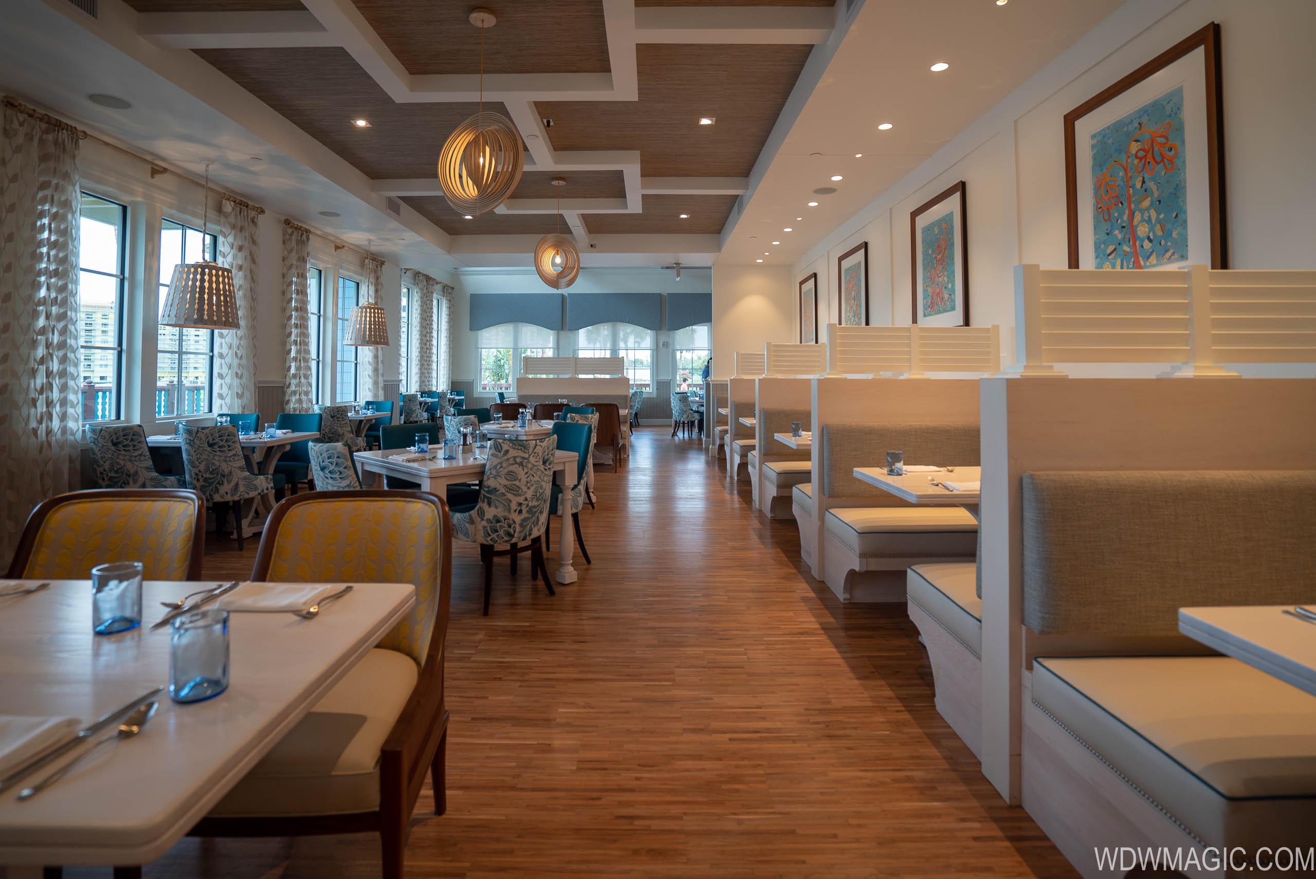 Sebastian's Bistro - Dining Room