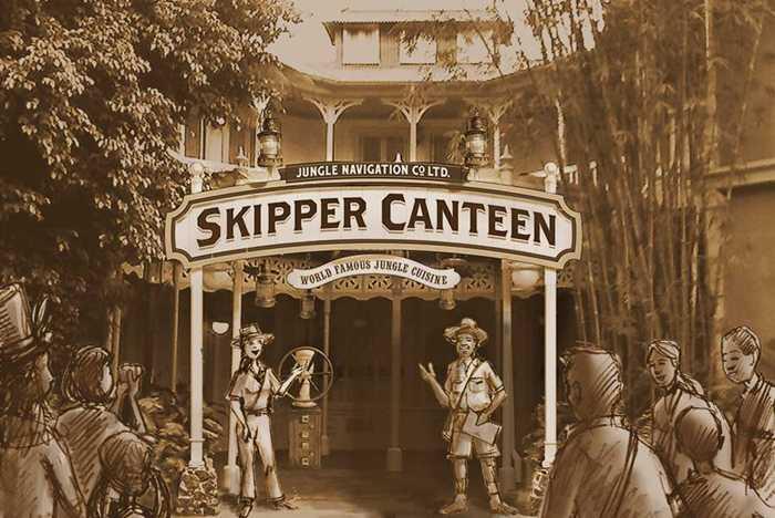 Skipper Canteen concept art