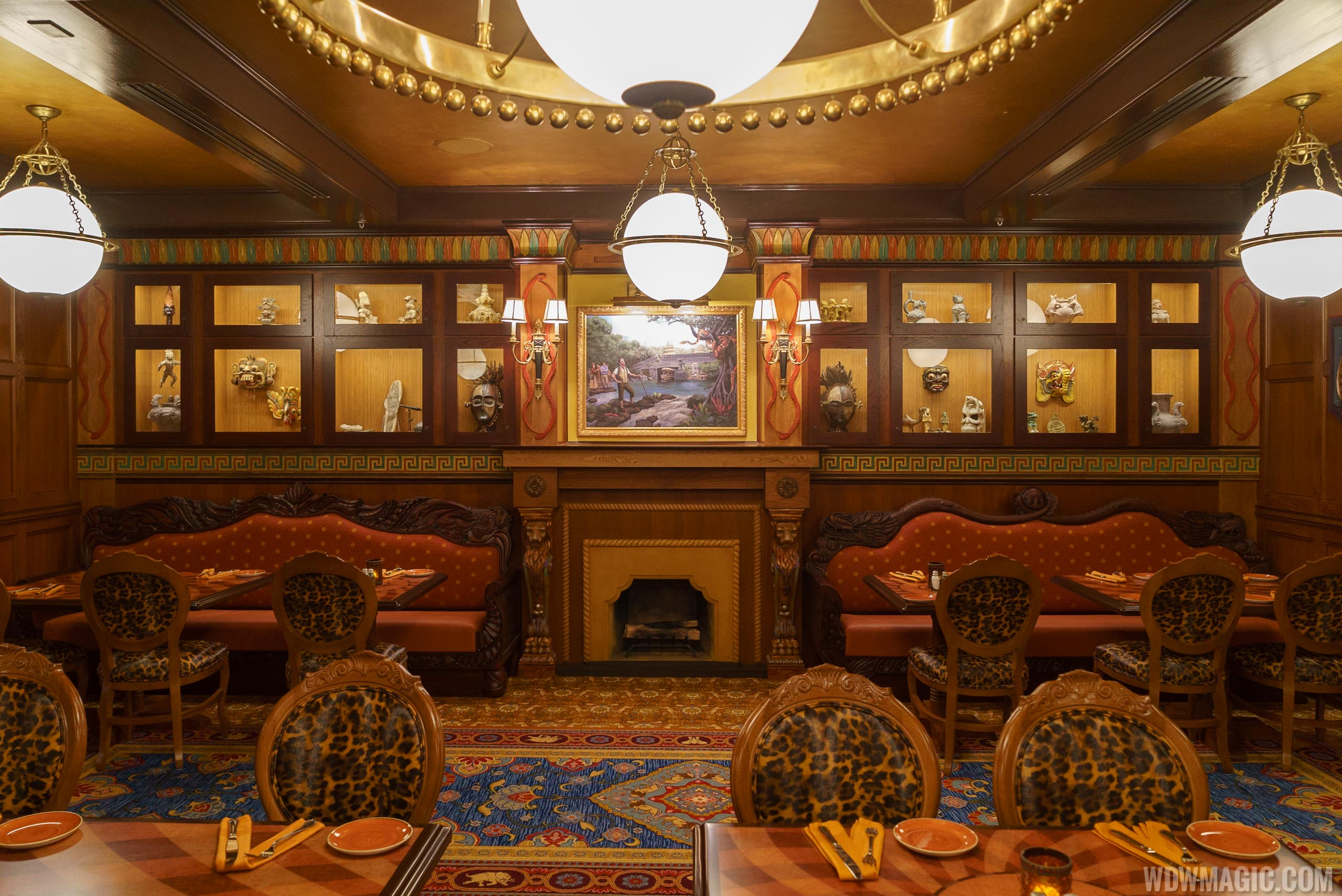 Jungle Cruise Skipper Canteen - S.E.A. dining room