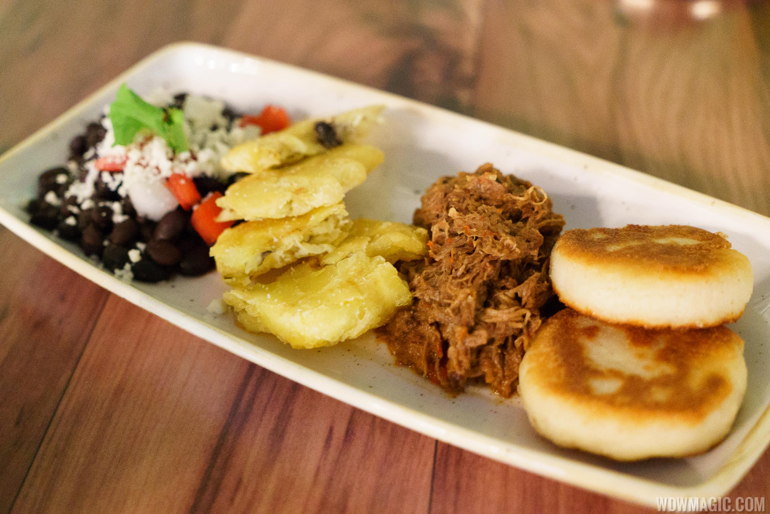 Jungle Cruise Skipper Canteen - Amazon Annie's House-made Arepas