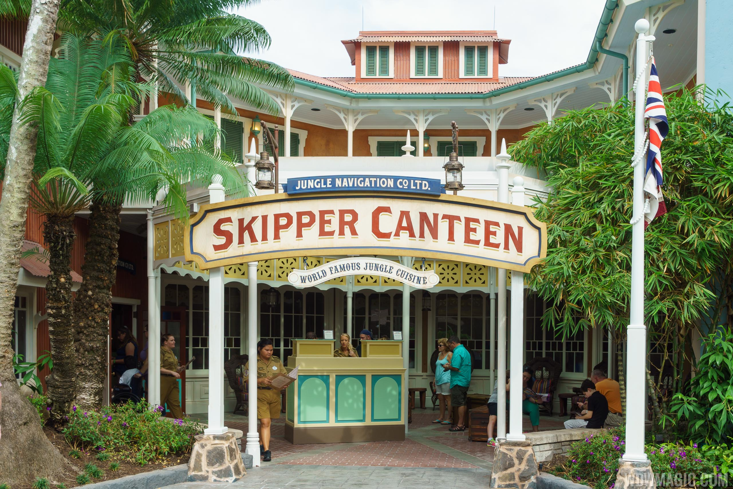 Jungle Cruise Skipper Canteen overview