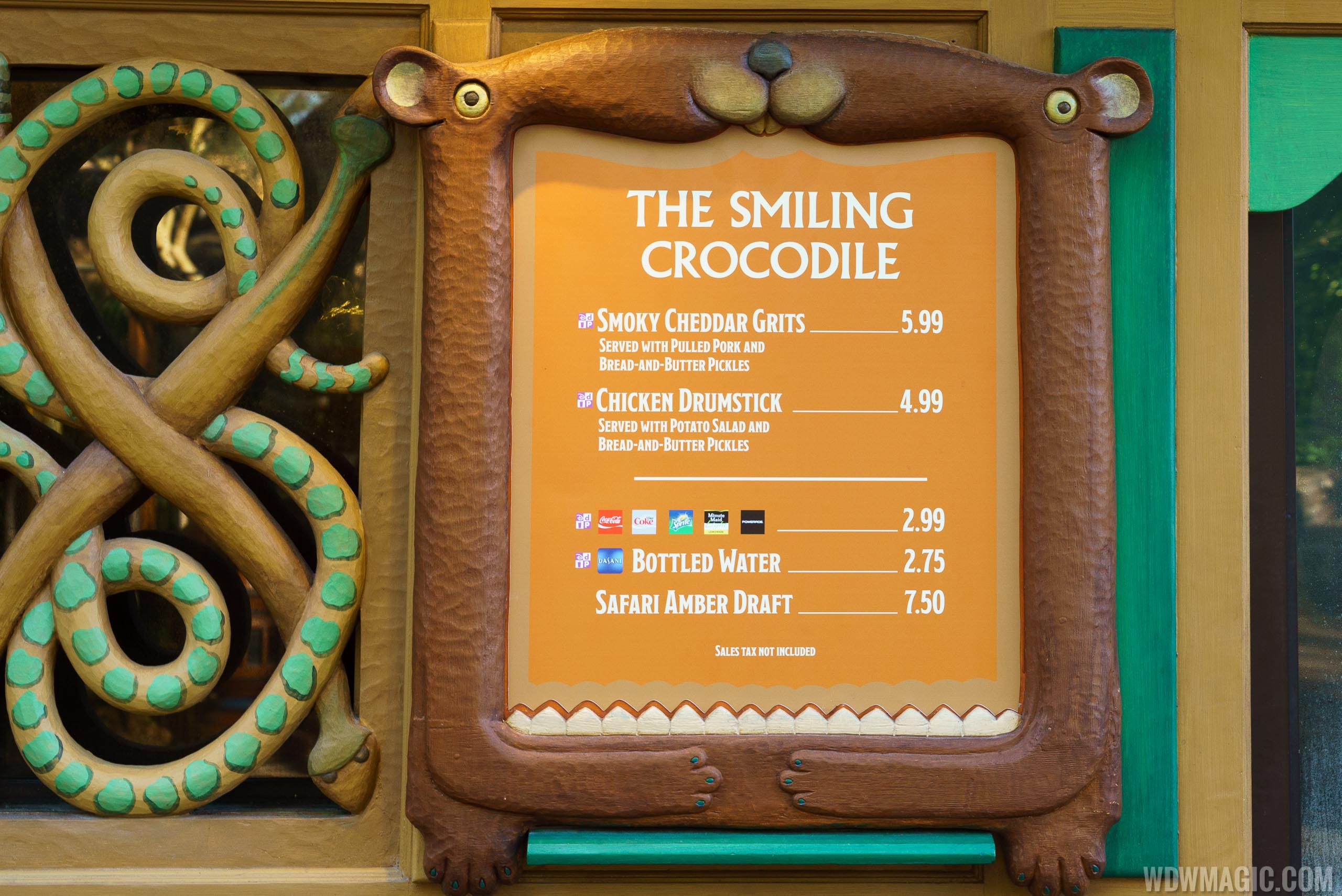 The Smiling Crocodile overview