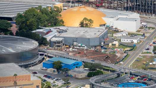 PHOTOS - Epcot's Space Restaurant construction