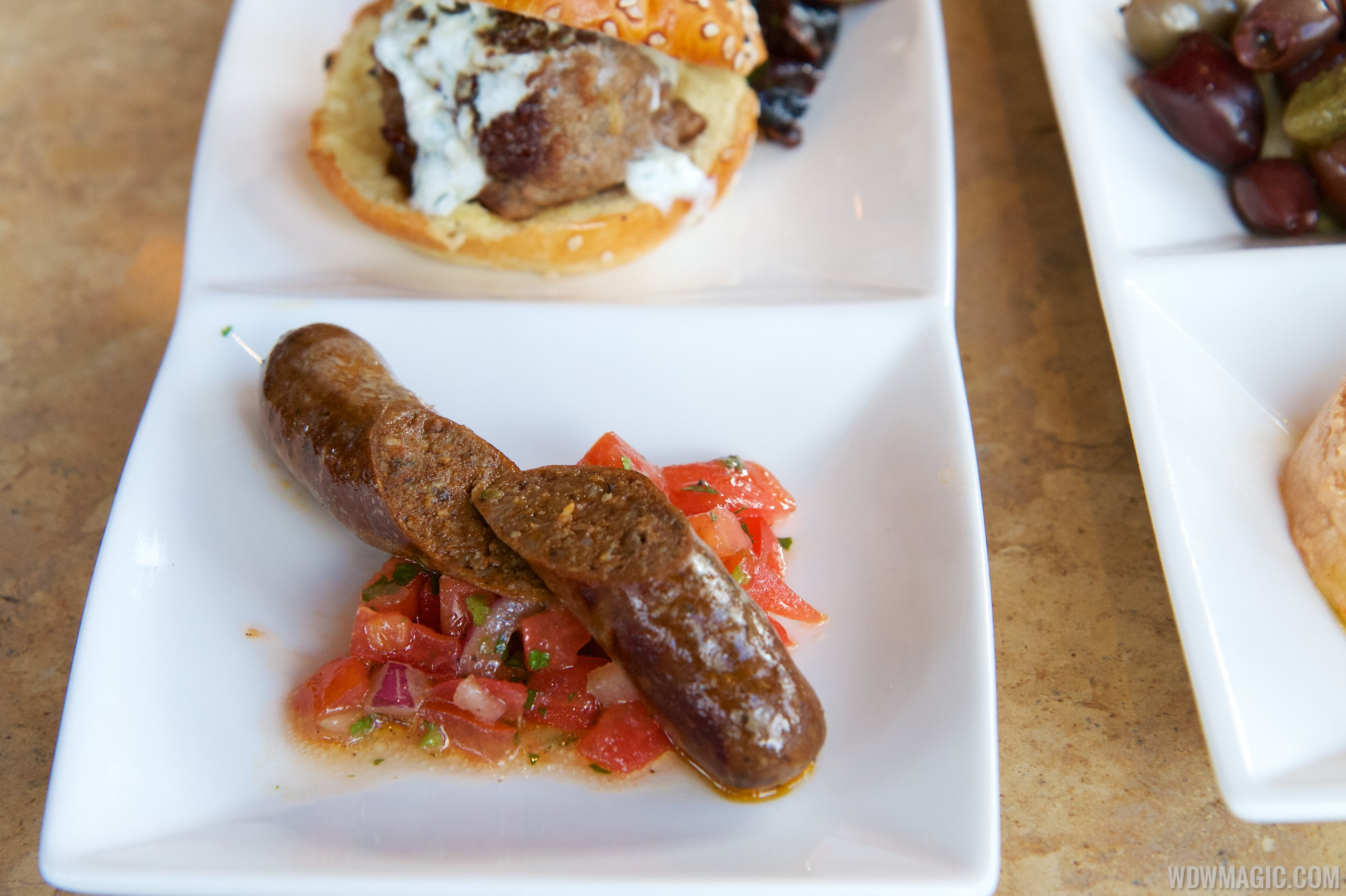 Spice Road Table - Merguez Sausage from the Tingis Sampler $16