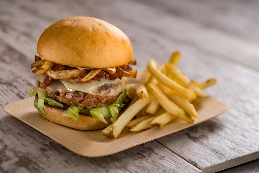 Spyglass Grill - Chorizo Burger