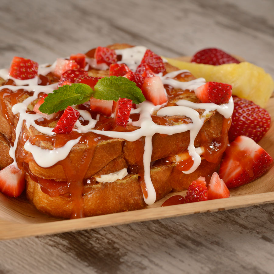 Spyglass Grill - Guava Stuffed French Toast