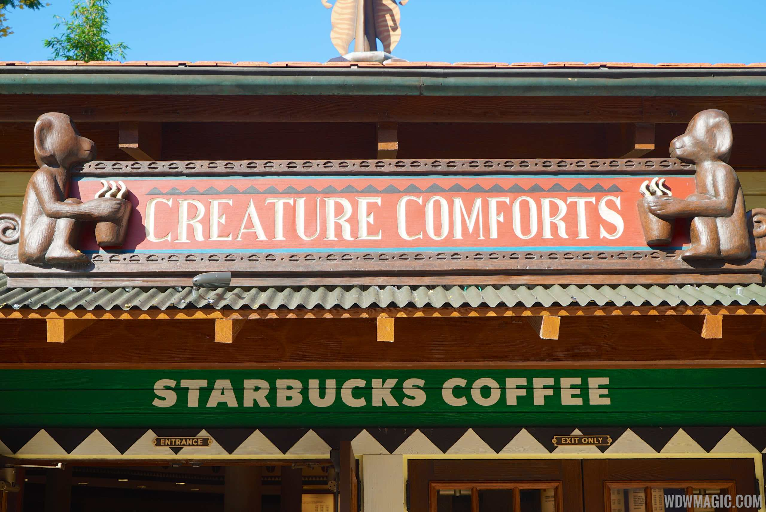 Creature Comforts Starbucks - Signage