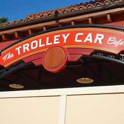 Starbucks Trolley Car Cafe construction