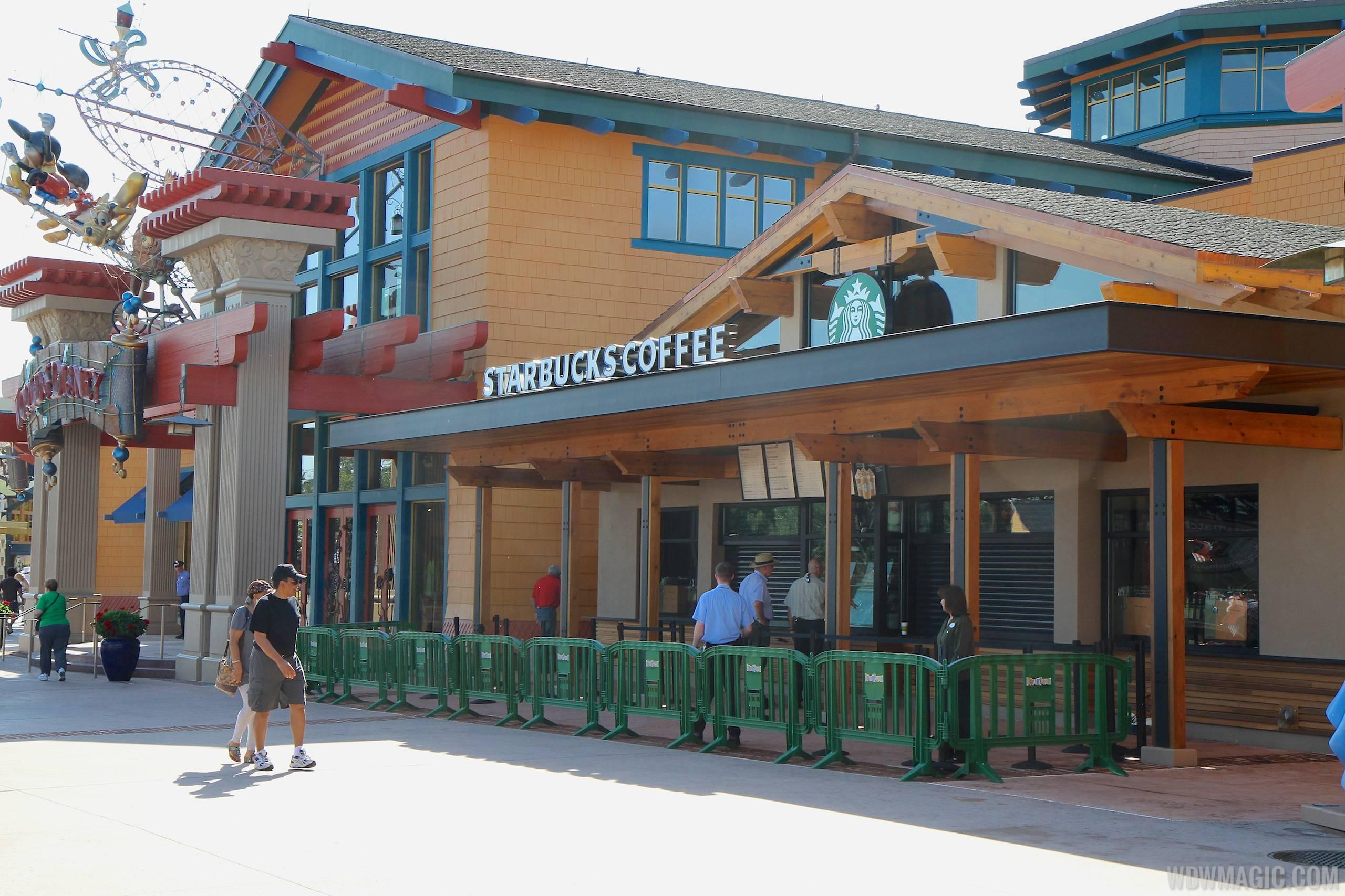 Starbucks Marketplace opening