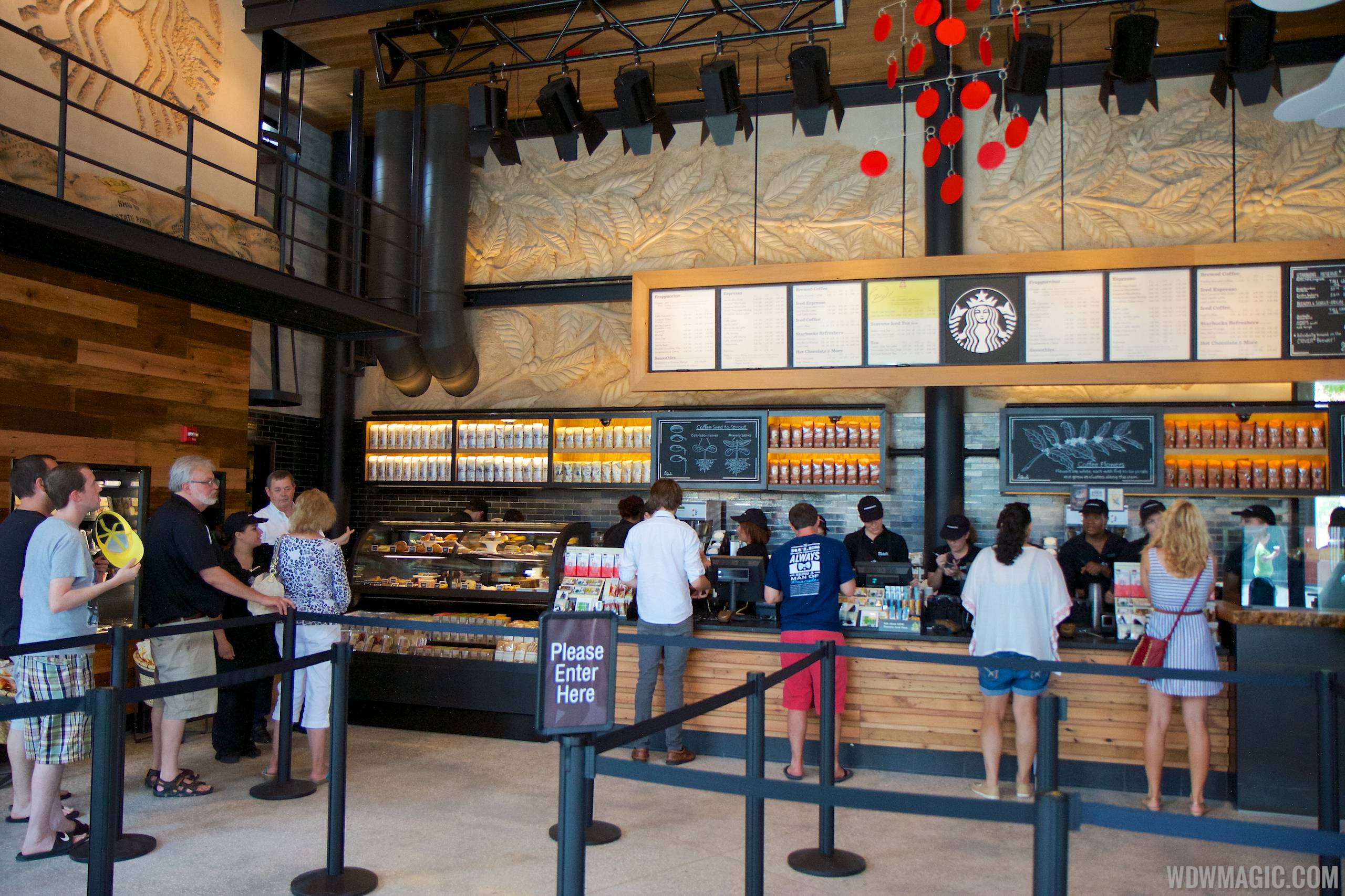 Inside the Starbucks West Side