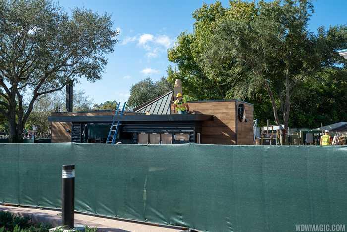 Starbucks Traveler's Café construction December 16